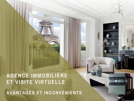 Agence immobilière : la visite virtuelle, avantages et inconvénients