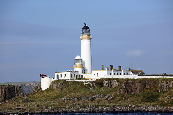 Pladda Light, marking the treacherous rocks at the southerly end of Arran.