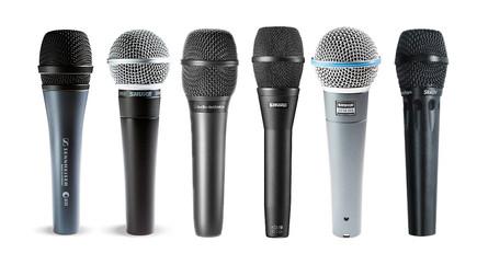 Mikrofon énekre és hangszerekre