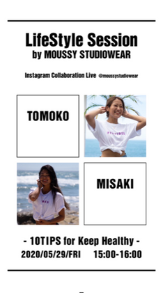 Instagram Live with MOUSSY