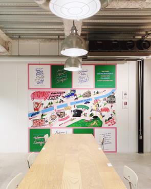 IWD 2021: Illustration Exhibition @ Streamer Coffee Nakameguro
