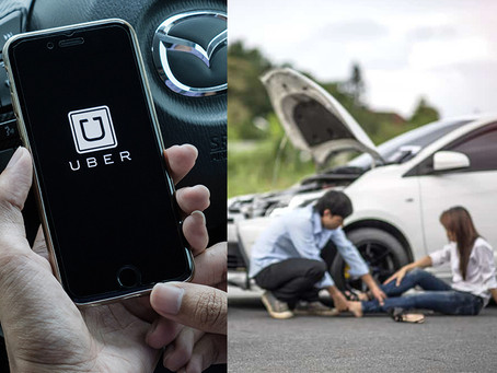 I Was Injured While Riding in an Uber® or Lyft® Vehicle - What's Next?