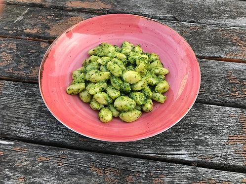 Gnocchi al Pesto (Rucola-Mandel)