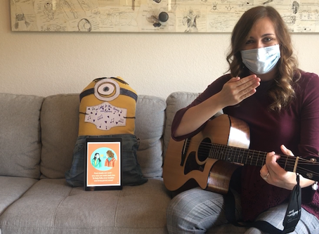 Let's Learn About Masks: A Craft and Singalong Story
