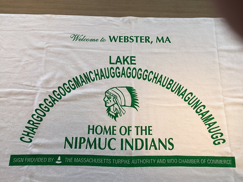 Welcome to Webster Lake Chargogg Beach Towel