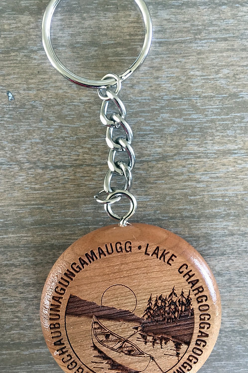 Lake Chargoggagogg Key Chains