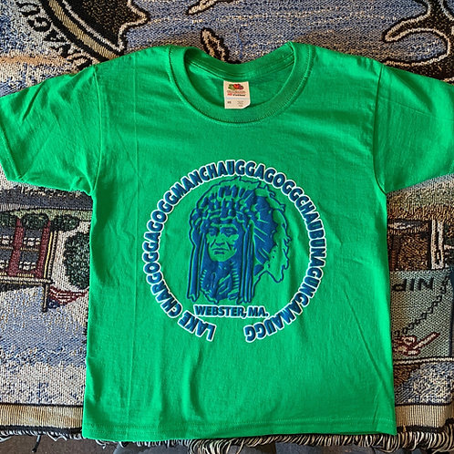Classic Indian Head Lake Chargogg Children's Tee