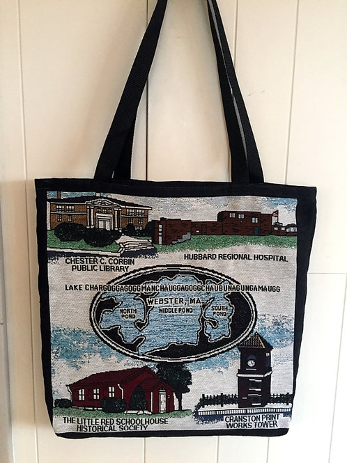 Tapestry Woven Tote Bags