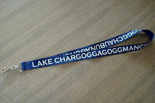 Lake Chargoggagogg Lanyard