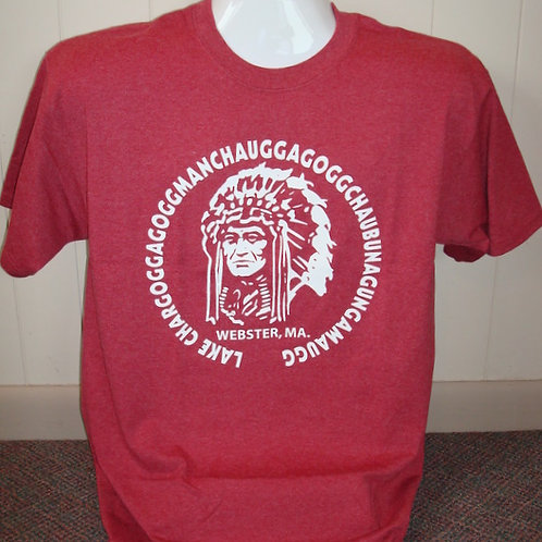 Lake Chargoggagogg Classic Indian Head Tee Shirt