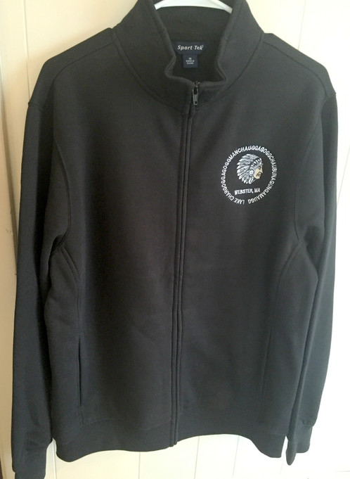 Handsome classic fleece looks great on its own or stylishly layered.  Embroidered with black, grey and white Indian head logo. Soft, lightweight,  plush and ...