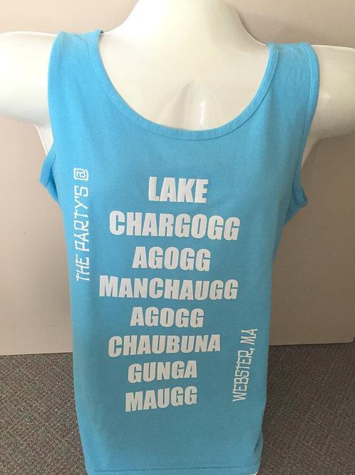 """The Party's @ Lake Chargoggagogg"" Tank Top"
