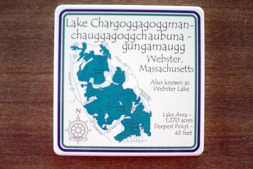 Absorb Stone Lake Chargogg Coaster