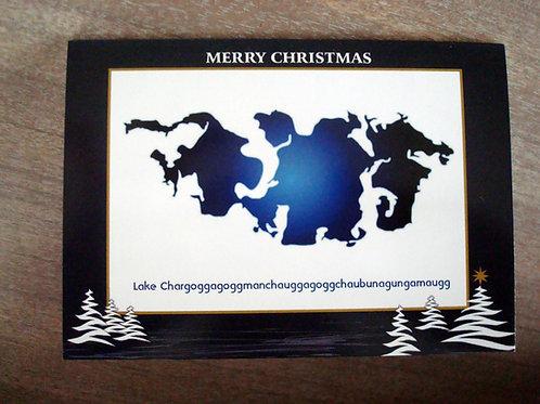 Lake Chargoggagogg Christmas Card