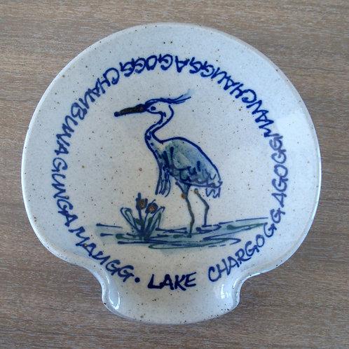 Custom Lake Chargoggagogg Spoon Rest