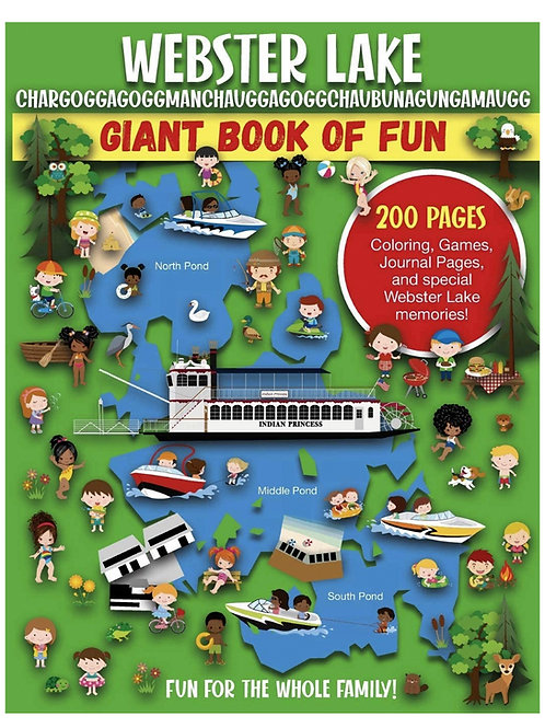 Webster Lake Giant Book of Fun