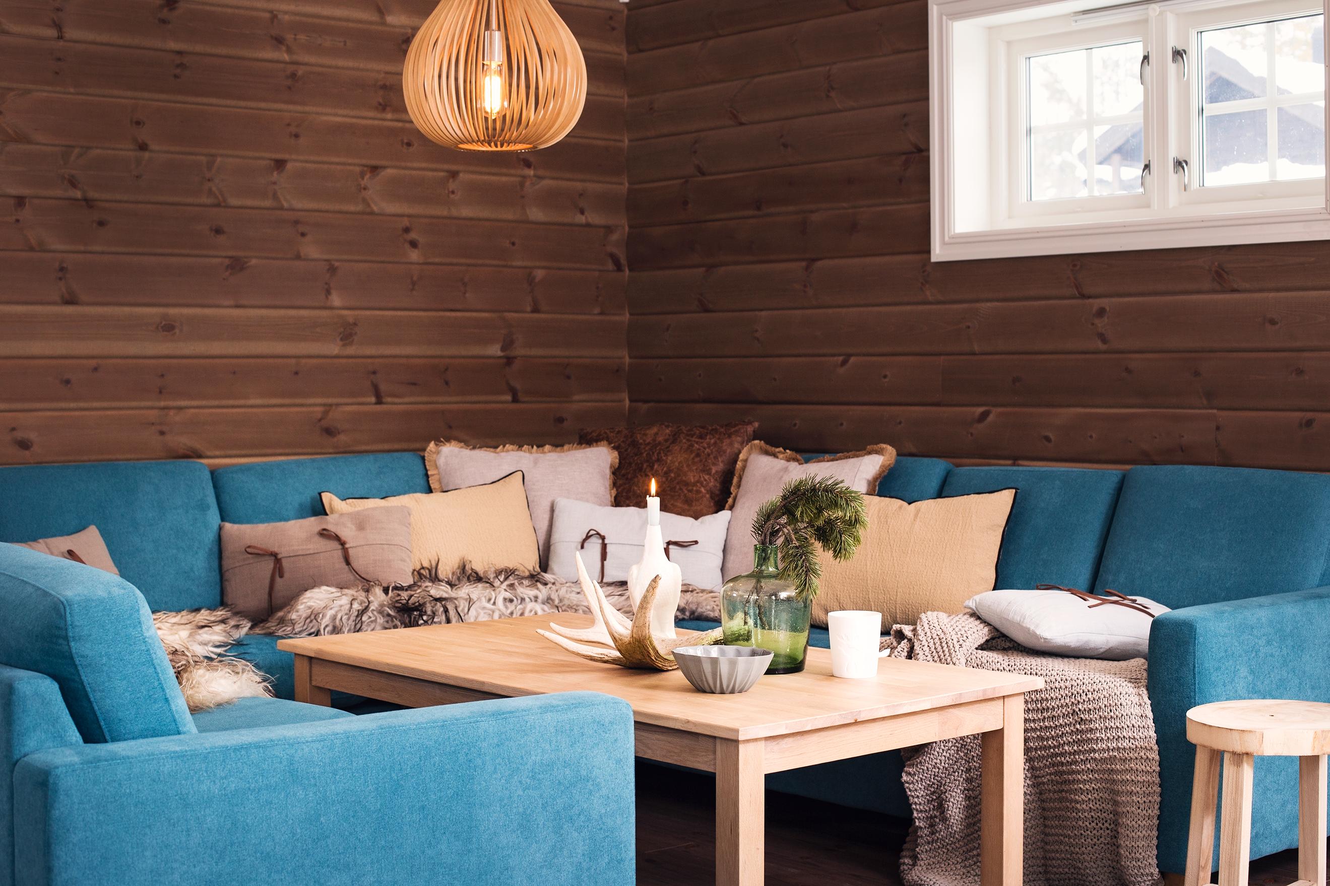 Koselig sofakrok med god plass