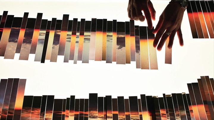 FLUX - projection vidéo sur parachute