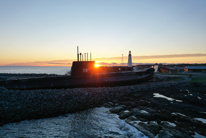 Onondaga du Site historique maritime de la Pointe-au-Père, photographié par l'Agence Ambassade, service de vidéaste à Rimouski