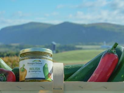 Produit de Manger Saison, photographié par l'Agence Ambassade, service de vidéaste à Rimouski
