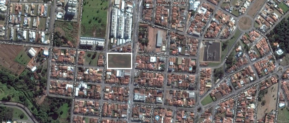 Localização Casa Granel