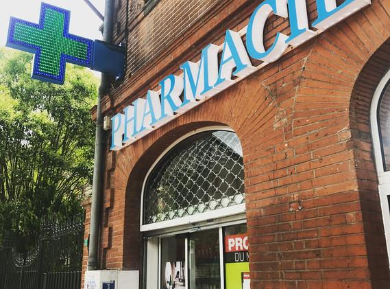 Enseigne lumineuse pharmacie Toulouse