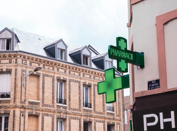 Croix de pharmacie Toulouse