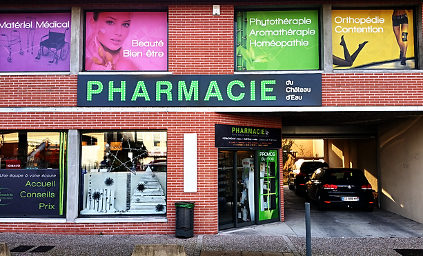Enseigne et signalétique pharmacie