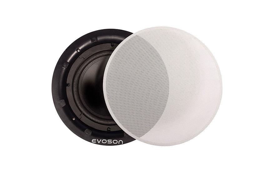 """CORESOUND™ 6"""" 30W 100V Bezel-less Ceiling Speaker - White"""