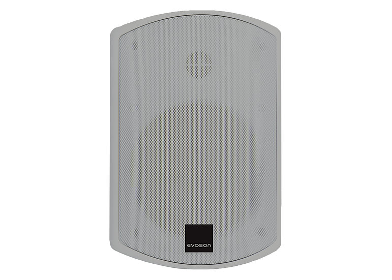 "IO Series™ 6"" IP66 100V Plastic Cabinet Speaker - Grey"