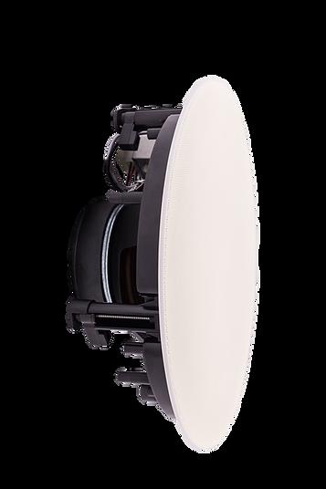 Evoson white in-ceiling speaker for surface-mount, pendant-mount, or flush-mount