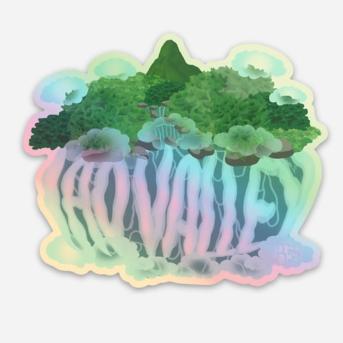 'Iao Valley Holographic Stickers