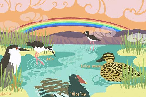 Hawaiian Wetlands