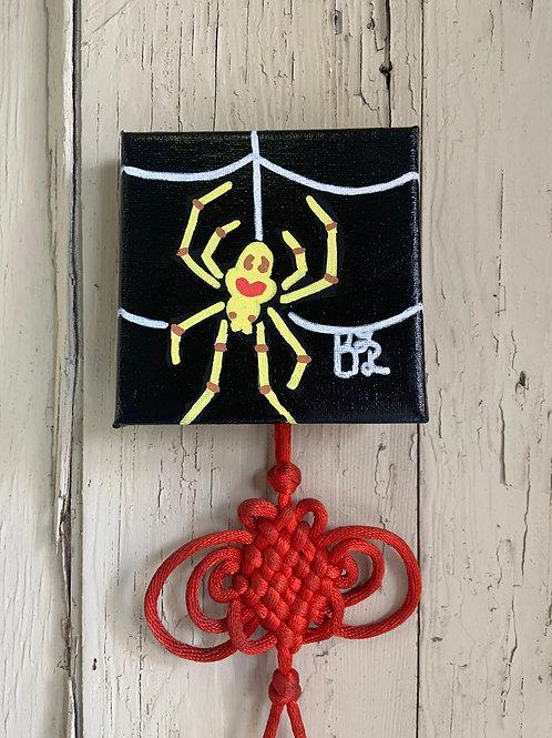 Happy Face Spider Original Painting