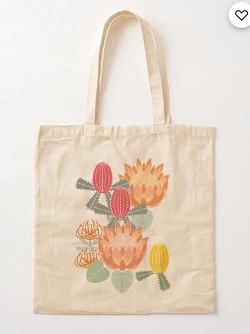 Protea Tote Bag