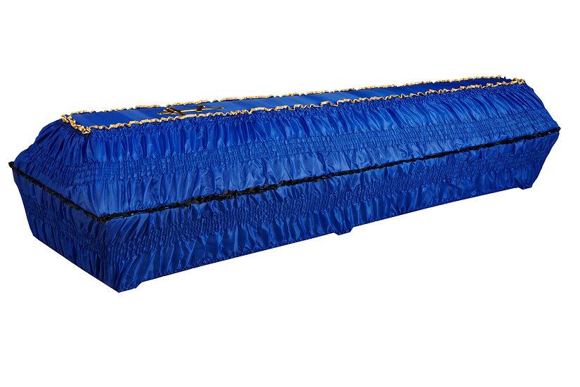 Тканевый гроб шёлк 2