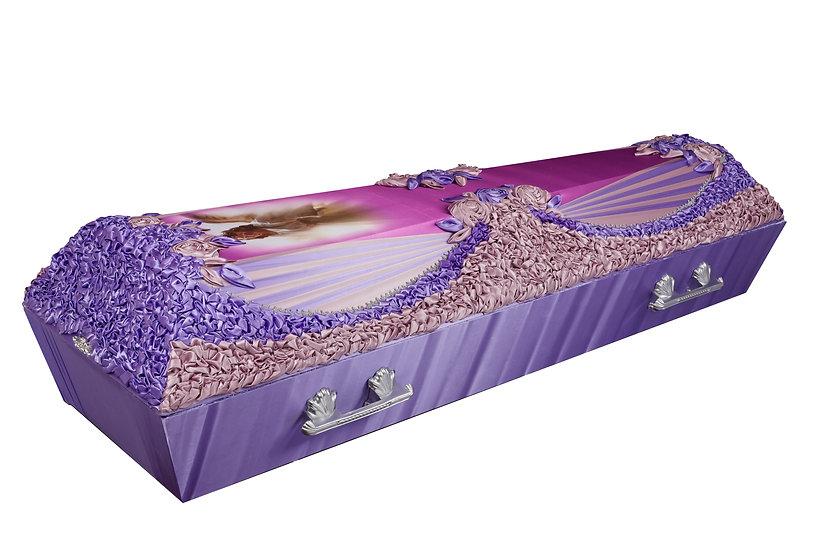Тканевый гроб эксклюзивный