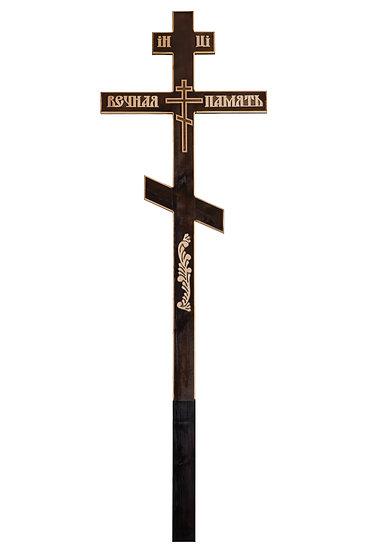 """Крест деревянный """"ВП широкий прямой"""""""