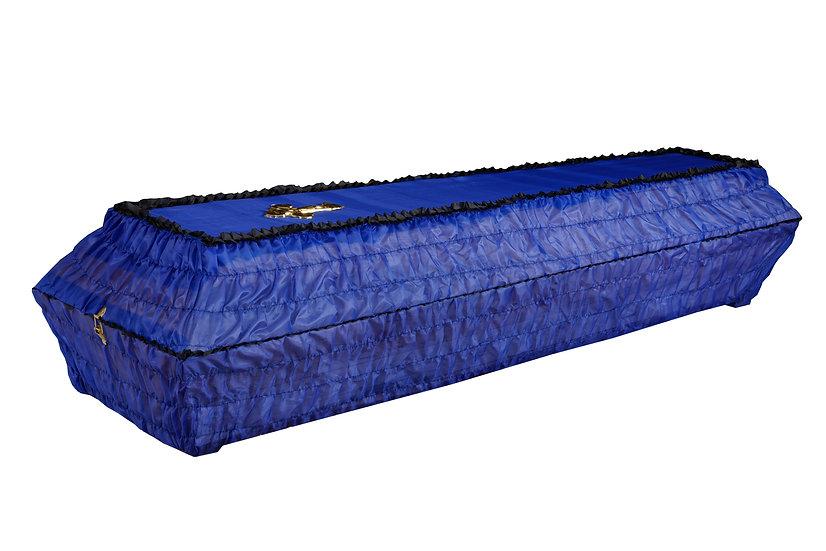 Тканевый гроб шёлк