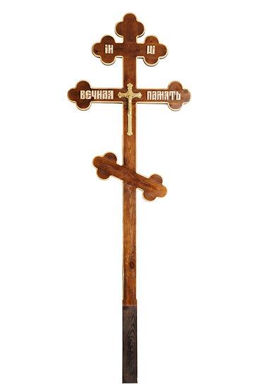 """Крест деревянный """"Фигурный"""""""