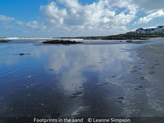 Leanne Simpson_Footprints in the sand.jp
