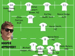 Willow and Gabs' Rugby Championship Dream Team