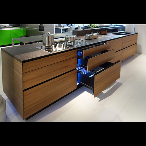Valcucine - Noce Tattile - VIEW DRAWINGS