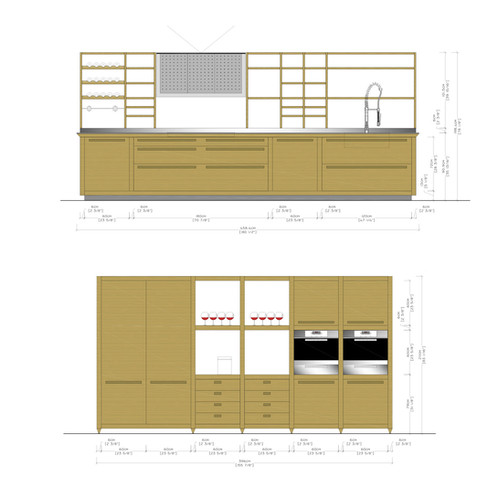 Valcucine - Sine Tempore - VIEW DRAWINGS | Dom Interiors