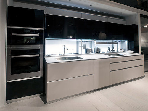 Dom Interiors | Valcucine - New Logica - VIEW DRAWINGS