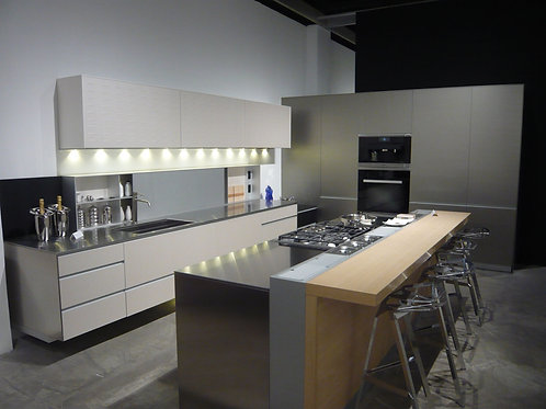 Valcucine - Riciclantica Kitchen - VIEW DRAWINGS