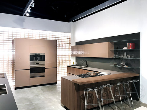 Ascent – Lacquer and Veneer Kitchen – CALL FOR DRAWINGS