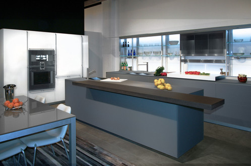 Valcucine - New Logica - VIEW DRAWINGS | Dom Interiors