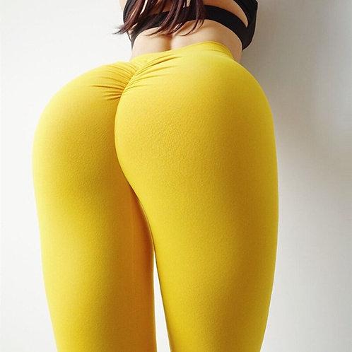 Scrunch Butt Fitness Athletic Leggings Super Stretch Yoga Pants Soft Nylon