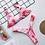 Thumbnail: Tie Dyeing Bikinis Set  Thong Swimming Suit